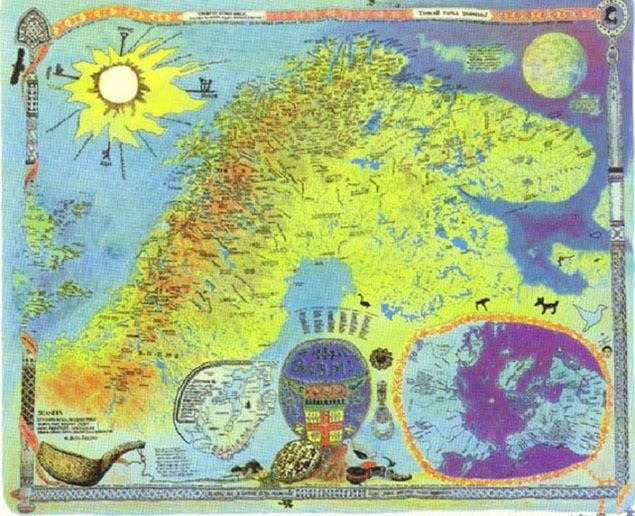 Hans Ragnar-Mathisen, SÁBMI, published by the Sámiid Særvi ja Sámi Institutta, 1975.