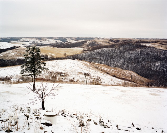 Jorgenson Valley, soon to be crossed by a pipeline, November 2012. Photo by Terry Evans.