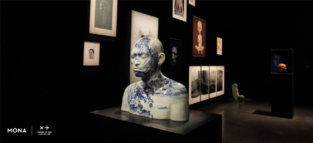 Installation shot from the Theatre of the World exhibition. Image courtesy of MONA.