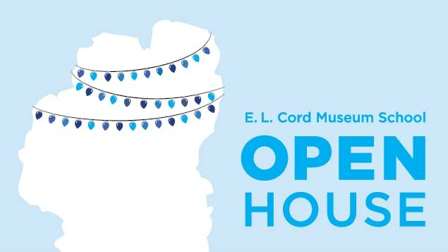 Free Admission, E.L. Cord Museum School Open House and Hands ON! Second Saturdays