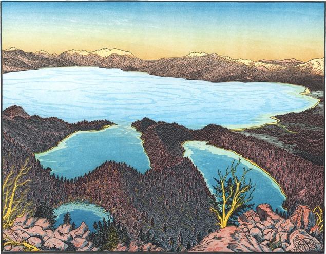 Meet the Artist: Tom Killion on Prints and Printmakers of Lake Tahoe