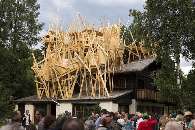 Des Frères Chapuisat, La résidence secondaire, 2012.