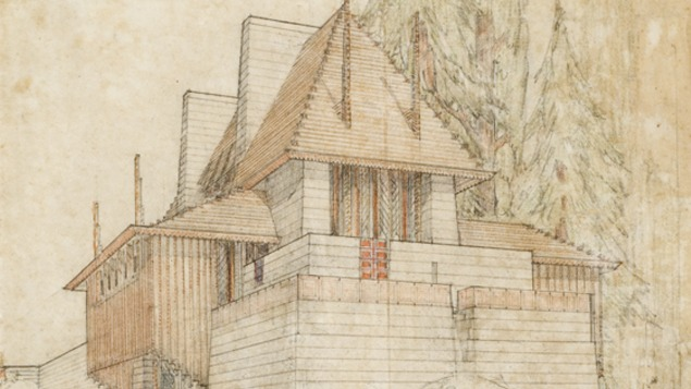 Cancelled: Alan Hess on Frank Lloyd Wright's Designs for the (Unbuilt) Lake Tahoe Summer Colony