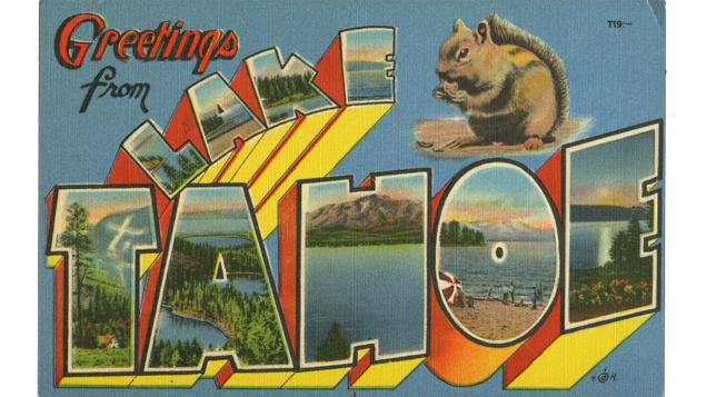 Tahoe Postcards   Nevada Museum of Art