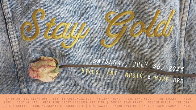 Stay Gold: Summer Ride and Rooftop Blowout with the Holland Project