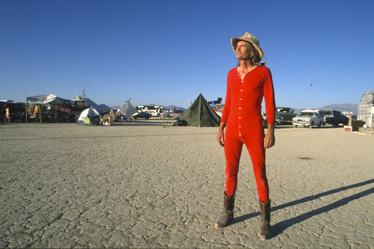 Michael Mikel: Coyote Goes to Burning Man