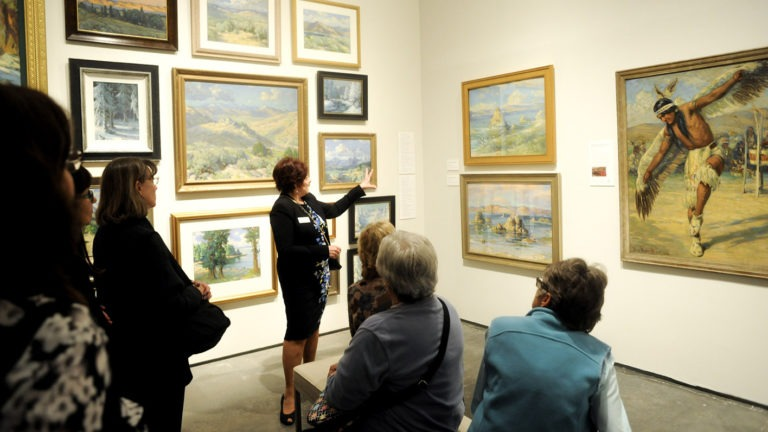 Docents in the Galleries: Anne Brigman
