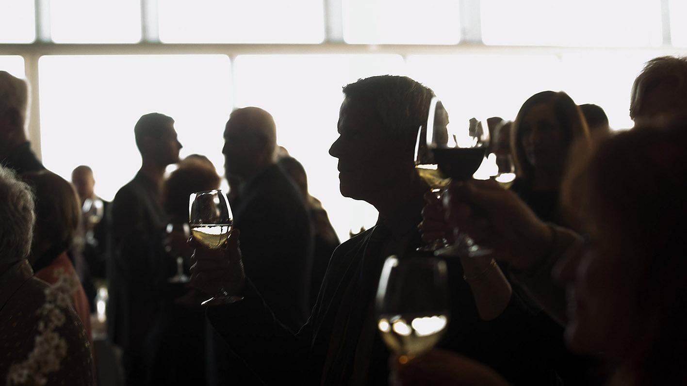 chez louie Holiday Wine Dinner Featuring Dark Cellars' Wine