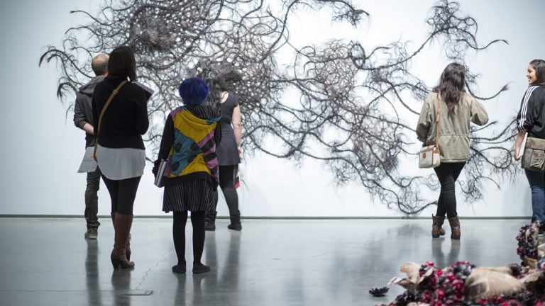 """Curator Walkthrough: JoAnne Northrup on: """"The World Stage"""""""
