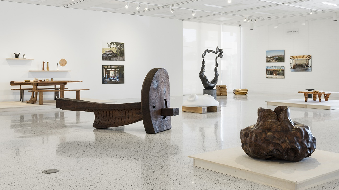 "Gallery Talk: Brooke Hodge, of the PSAM discusses ""In Conversation: Alma Allen and J.B. Blunk"""
