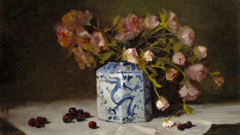 All About Flowers in Oil