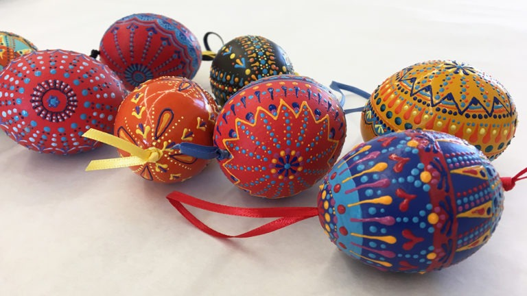 Hand Painted Decorative Eggs