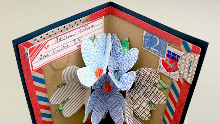 Pop-Up Mail Art Card