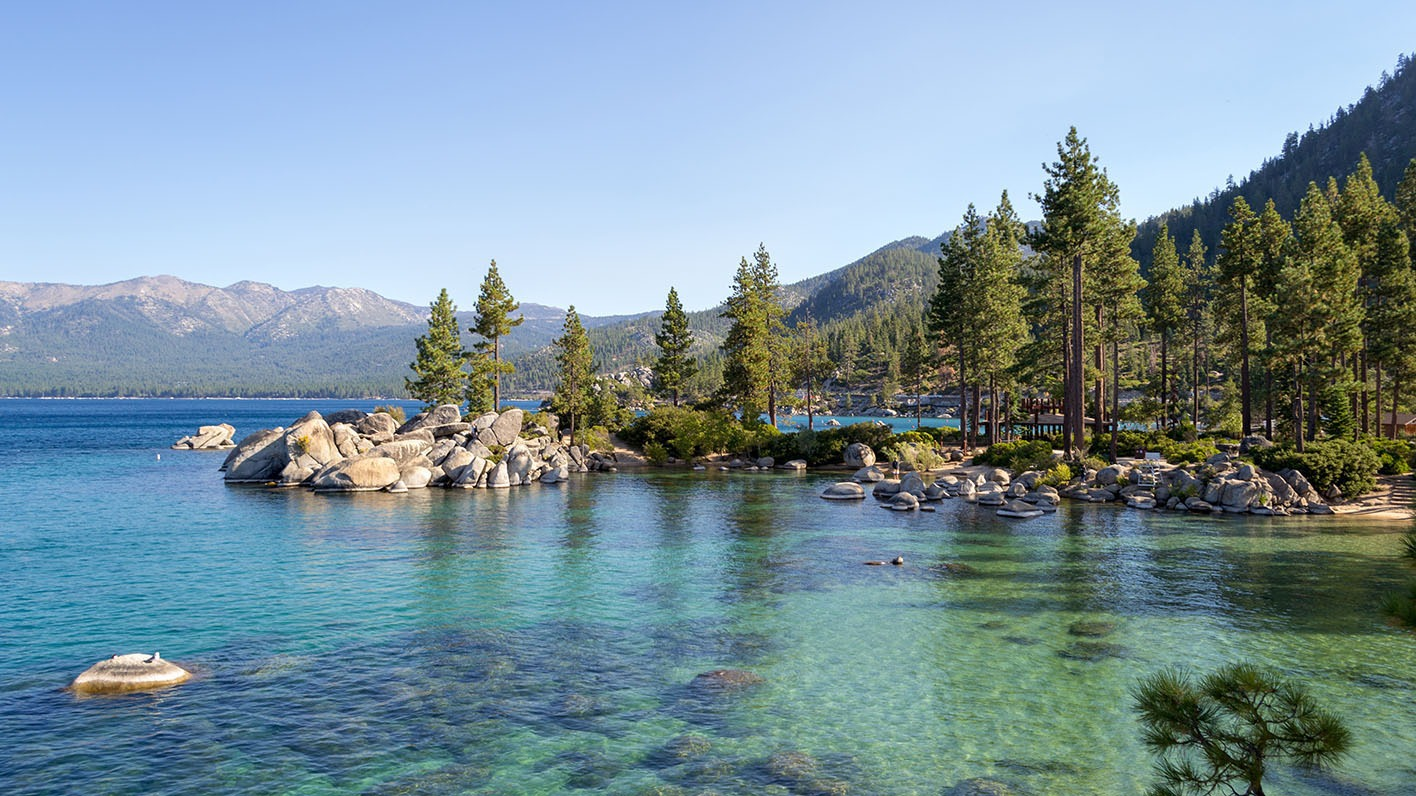The Center of the World: Da'Wa (Lake Tahoe): The History and Geology of the West Shore
