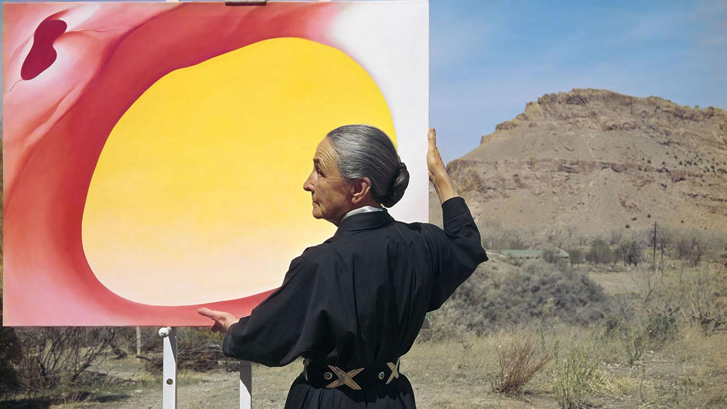 Georgia O'Keeffe's Sky with Dr. Brett M. Van Hoesen