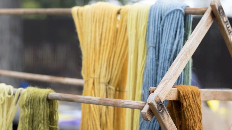 Fiber Arts: Natural Dyes of the High Desert