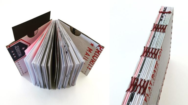 Book Arts: Scraps to Sketchbooks