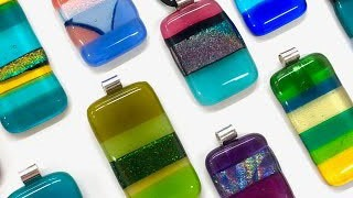 Fused Glass Earring and Pendant Workshop