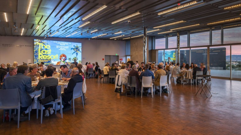 Shabbat Dinner with Distinguished Guest, Jordan D. Schnitzer