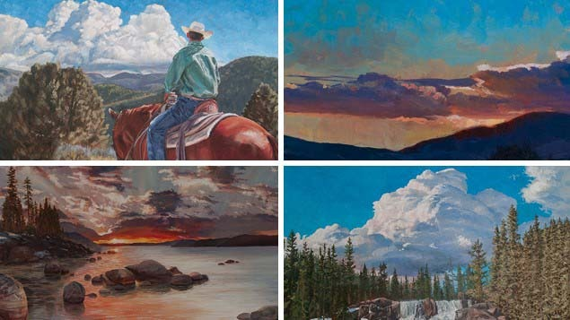 Mastering the Elements of the Landscape – Sky and Clouds in Oils