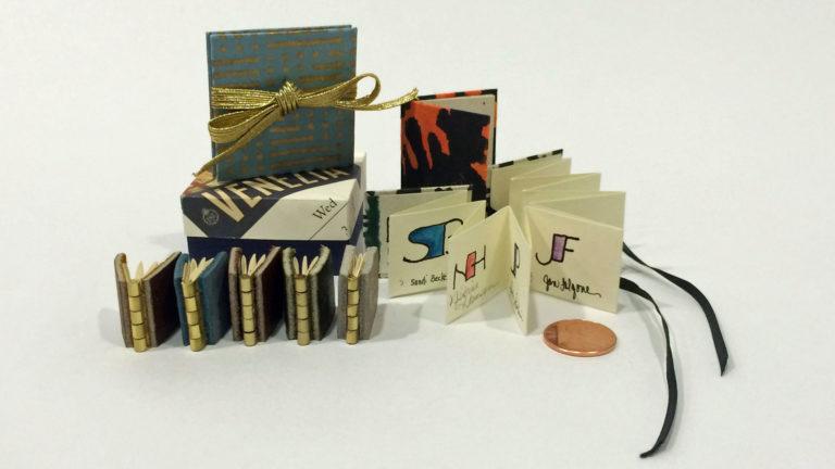 Writing Small Alphabets and Creating Small Treasures