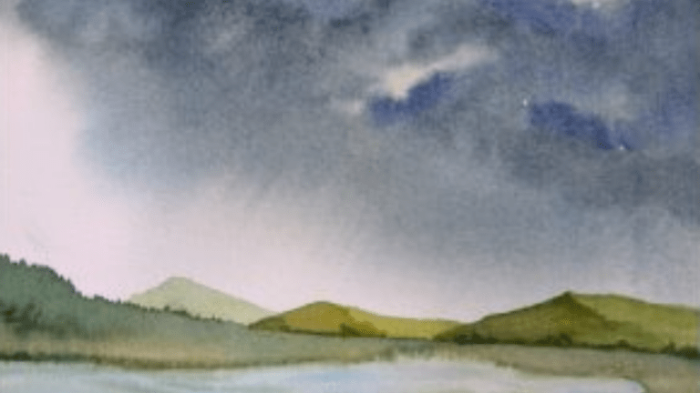 Watercolor Skyscapes