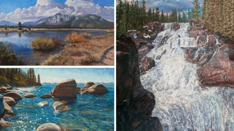 Mastering the Elements of the Landscape- Water, Lakes and Streams in Oil