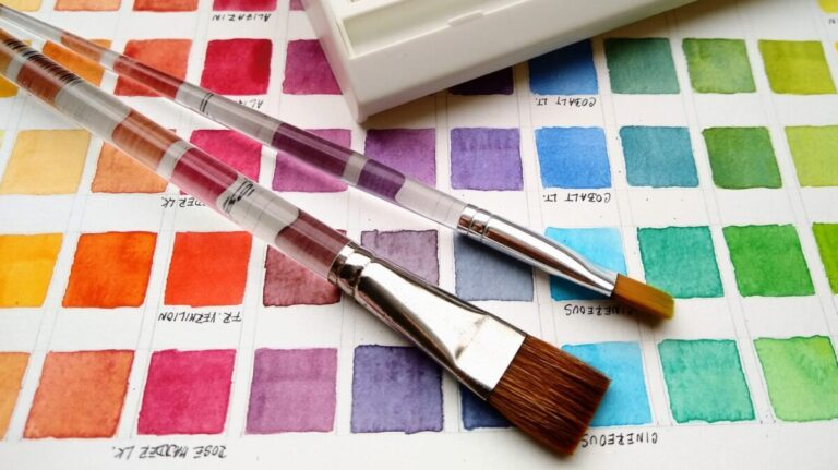 Color Theory and Mixing Pigments in Watercolor