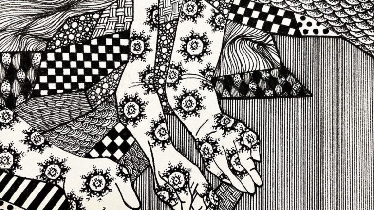 Introduction to Drawing: Textile Patterns and Lines